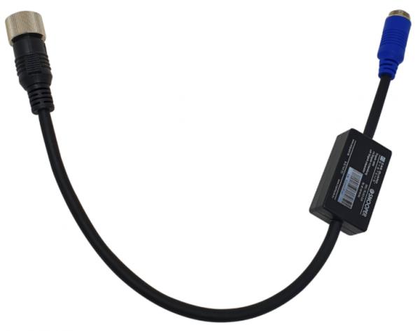 Fahrzeugheck-Adapter vom 4 Pin-Brigade-Schraubverbinder (m) zum 4 Pin-CGS-Schraubverbinder (m)