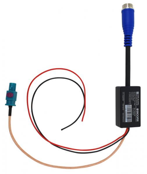 Adapter für Mercedes TCC Infotainmentsysteme mit J9J Kameravorbereitung im Actros, Antos, Arocs