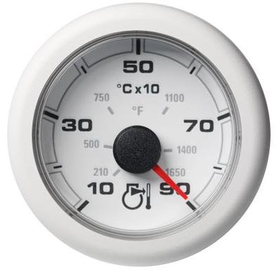Pyrometer 900 °C / 1650 °F weiß