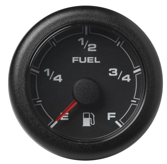 Kraftstofffüllstand leer – voll schwarz