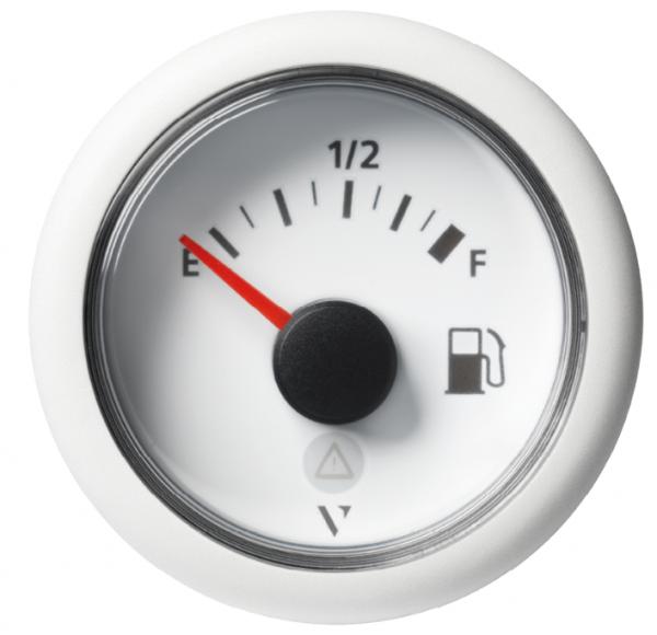 Kraftstoff leer – voll weiß (90 - 4 Ω)