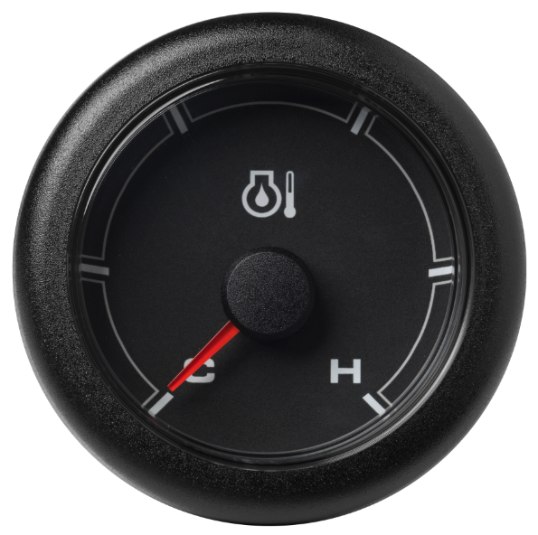 Motoröltemperatur kalt / warm (300 °F) schwarz