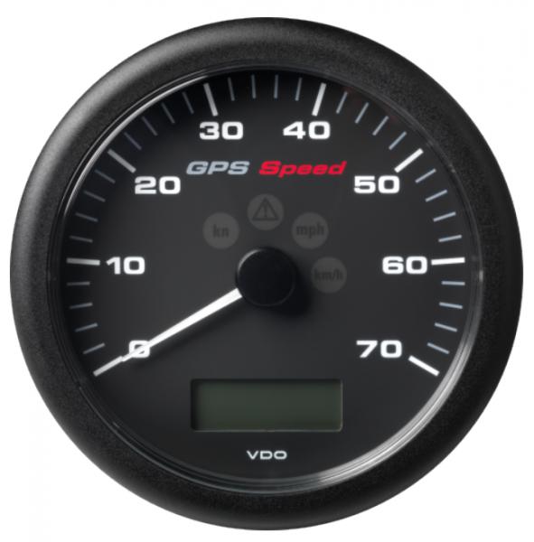 GPS-Geschwindigkeitsanzeige 0–70 Knoten/km/h/mph