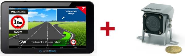 IntelliRoute-TR8050DVR-Navi-und-140°-Mini-Kamera-24V-silber