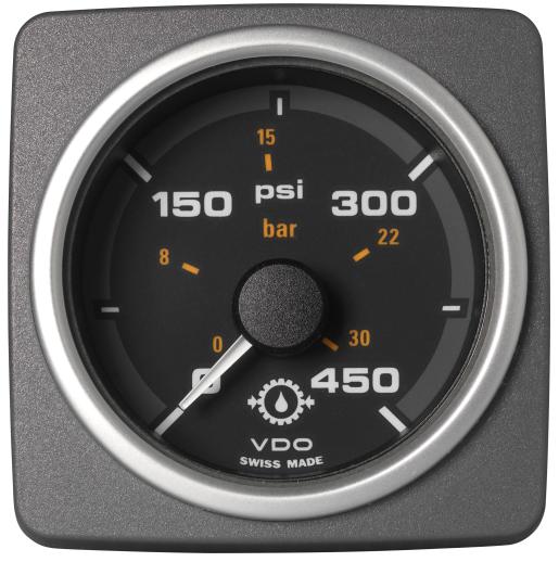 Getriebeöldruck 450 psi / 30 bar schwarz