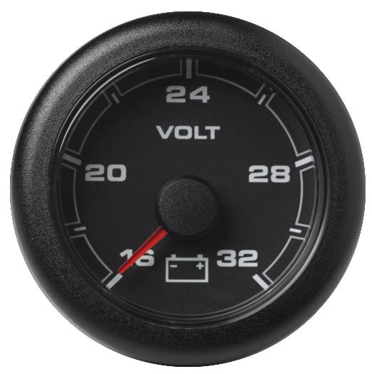 Voltmeter 16 – 32 V schwarz