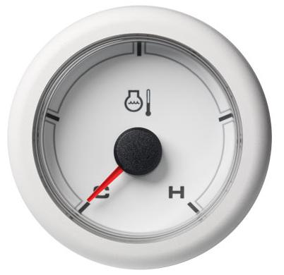 Kühlwassertemperatur kalt / warm (250°F) weiß