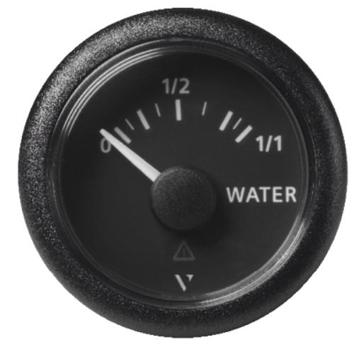 Frischwasser resistiv 0- 1/1 schwarz (3 - 180 mA)