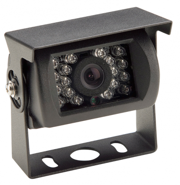 120° Rückfahrkamera feststehend schwarz 12V bis 24V