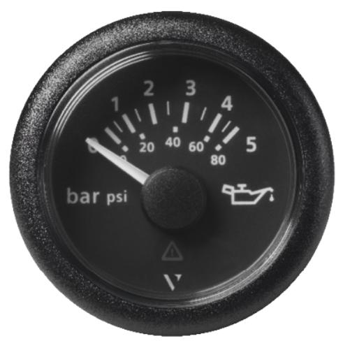 Motoröldruck 5 bar / 80 psi schwarz (10 – 184 Ω)