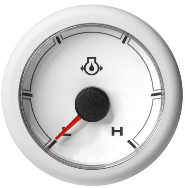 Motoröldruck niedrig / hoch (150 psi) weiß