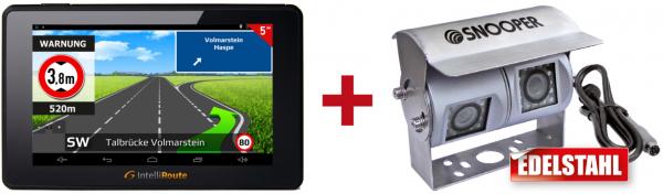 IntelliRoute CA6000DVR Navi + Doppel-Kamera 12V/24V für mobile Navigationssysteme