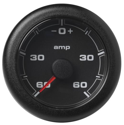 Amperemeter - 60 / + 60 A schwarz