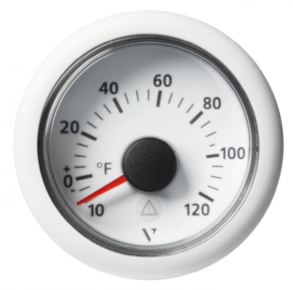 Außentemperatur +120°F/+50°C weiß (2 kΩ)