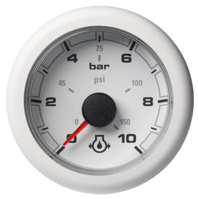 Motoröldruck 10 bar / 150 psi weiß