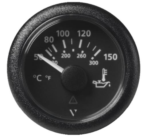 Motoröltemperatur 150°C/300°F schwarz (322,8 – 18,6 Ω)