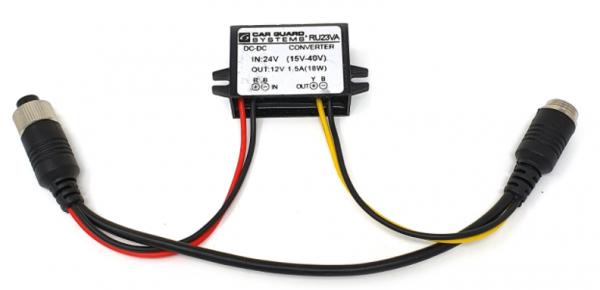 Spannungswandler von 15-40V auf 12V, Ersatzteil für die RAV-S-Arbeitskamera und Anhänger-/ Trailer-P