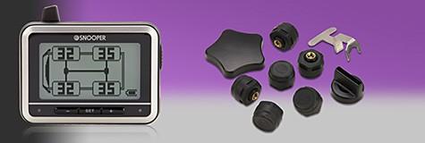 Reifendruck-Warnsystem für bis zu 22 Reifen mit 3 Zoll LCD-Display