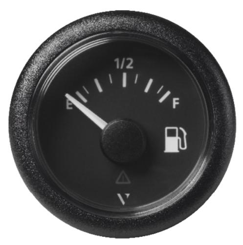 Kraftstoff leer – voll schwarz (240 - 33,5 Ω)
