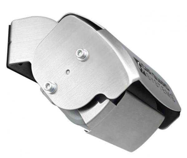 RAV-M Mini-Shutter-Rückfahrkamera, Full-HD für AHD-Monitore, 130°, silber, 9-14V, PAL