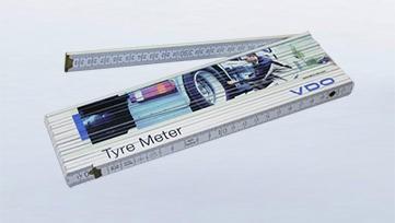 Reifen Meter (Meterstab 4 m)