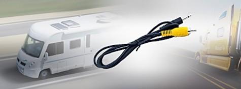 Rückfahr-Klinkenadapterkabel, 3,5mm/Cinch-Stecker