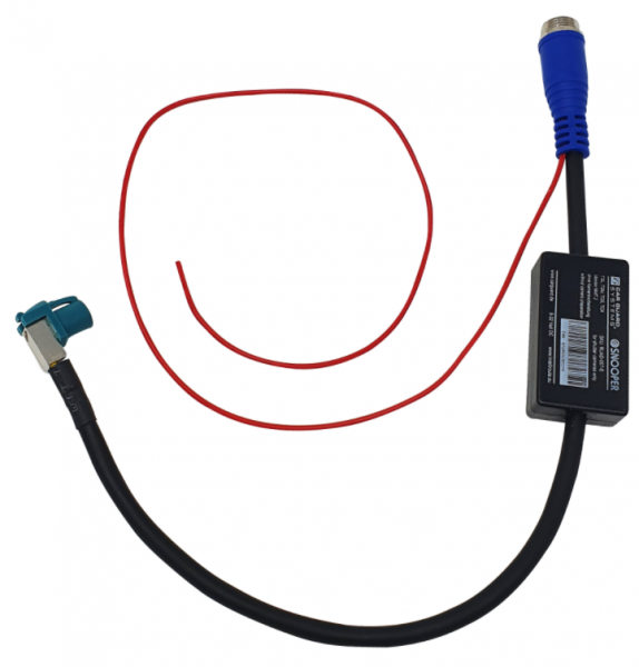 Adapter für Kameras mit Shutter an MMT.2 von MAN TGL, TGM, TGS u. TGX, ohne Kameravorbereitung
