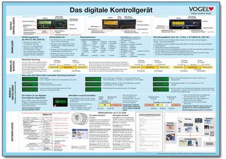"Plakat ""Das digitale Kontrollgerät"""
