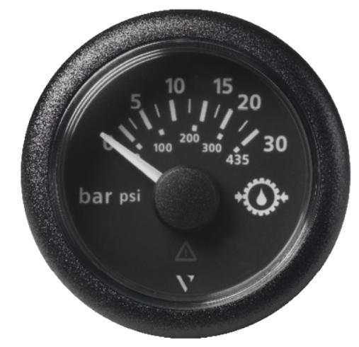 Getriebeöldruck 30 bar / 435 psi schwarz (10 – 184 Ω)