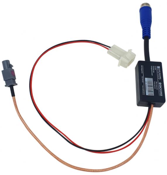 Adapter zum Anschluss von CGS-Kameras an serienmäßige Interactor Fleet-Management-Systeme SCANIA