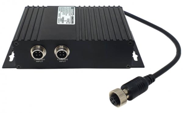 Kamera-Umschaltbox 2fach mit Splittfunktion