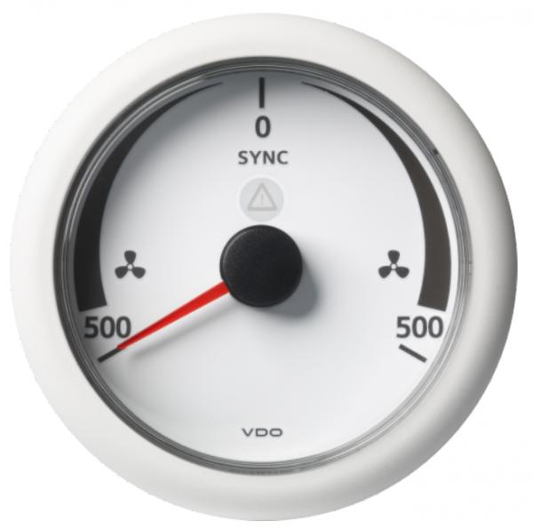 SYNCHRONISIERER -500/+500 RPM weiß