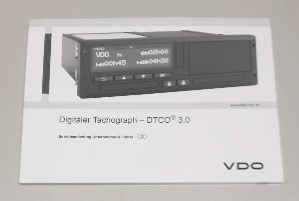 Bedienungsanleitung DTCO 1381 Release 3.0