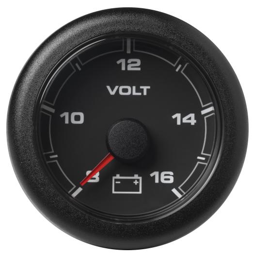 Voltmeter 8 – 16 V schwarz