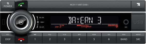 MCR 1118 K DAB+