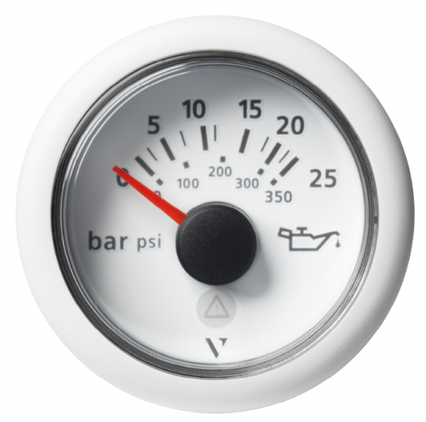 Getriebeöldruck 25 bar / 350 psi weiß (10 – 184 Ω)