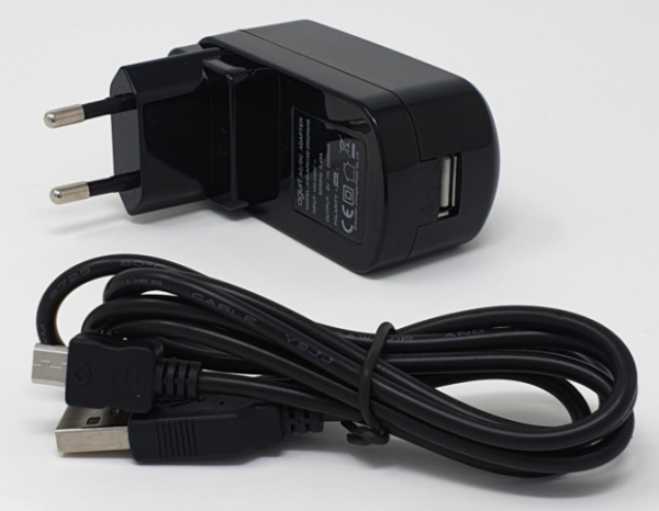 KFZ-Ladegerät für 12V-24V auf 5V Mini-USB inkl. TMC-Antenne SC5900