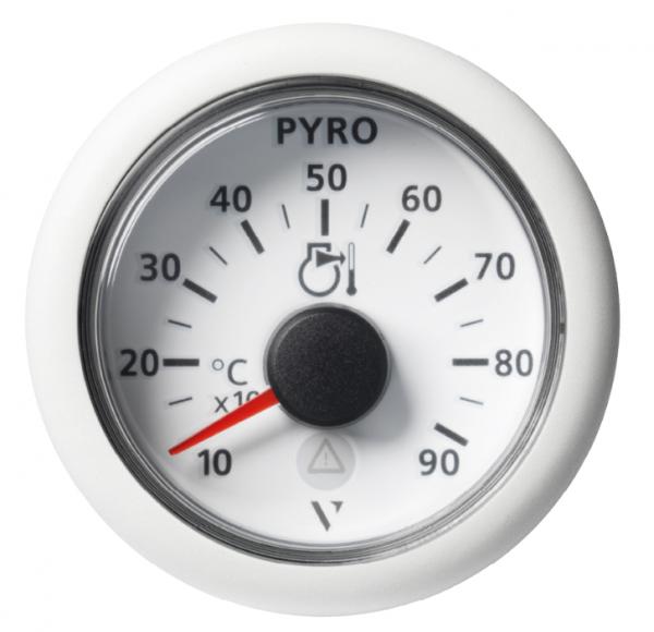 Pyrometer 900°C/1650°F weiß (37 mV)