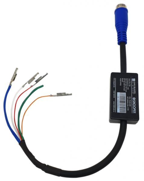 Adapter für Kameras an SEM AUD High A231 touch von Volvo FH4 u. FM4 oder an Variant 6YRO2 Monitore