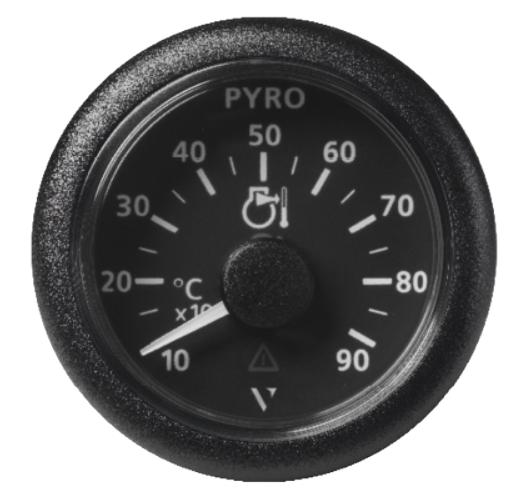 Pyrometer 900°C/1650°F schwarz (37 mV)