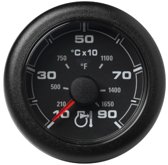 Pyrometer 900 °C / 1650 °F schwarz