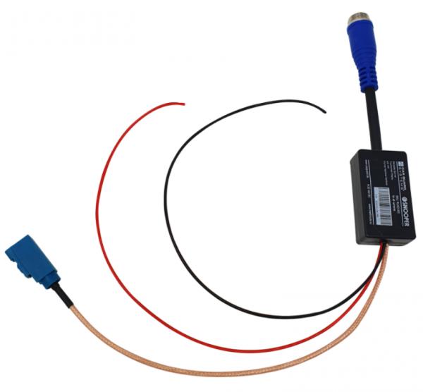 Adapter für Volkswagen RNS6000 Infotainmentsystem ohne J9J Kameravorbereitung im Crafter