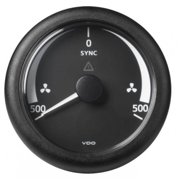 SYNCHRONISIERER -500/+500 RPM schwarz