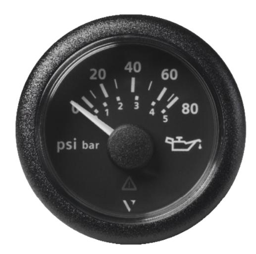 Motoröldruck 80 psi / 5 bar schwarz (10 – 184 Ω)