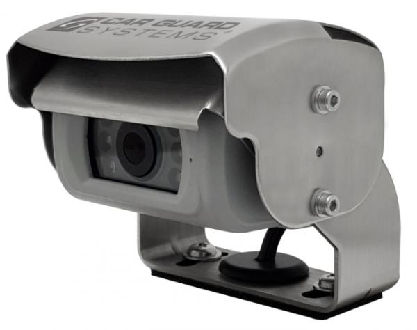 REAR ANGEL VIEW ™ RAV-M Mini-Shutter-Rückfahrkamera, 700TVL, 118°, silber, 9-32V, PAL