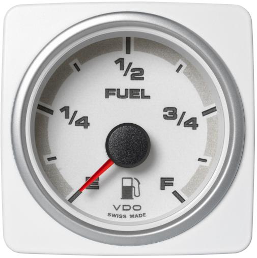 Kraftstofffüllstand weiß
