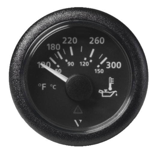 Motoröltemperatur 300°F/150°C schwarz (322,8 – 18,6 Ω)