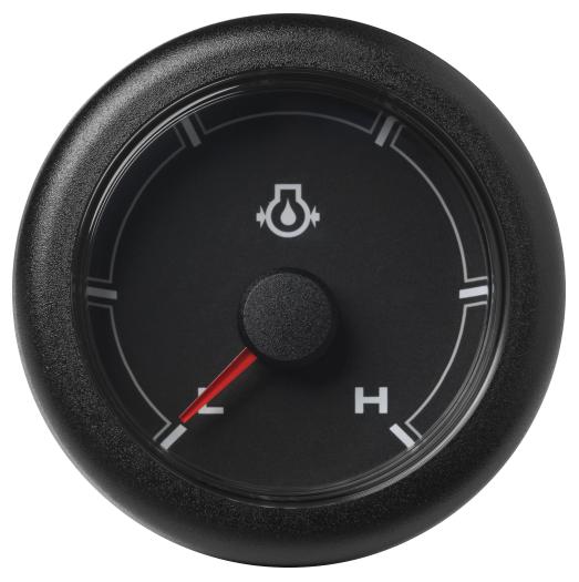 Motoröldruck niedrig / hoch (150 psi) schwarz
