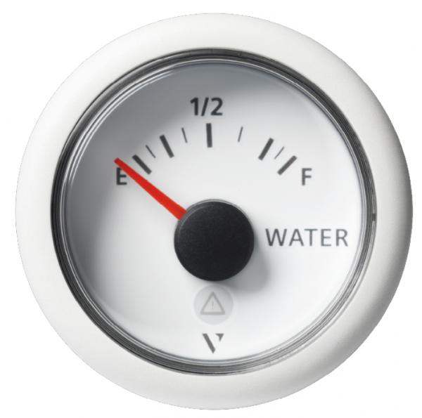 Frischwasser resistiv leer / voll weiß (3 - 180 mA)
