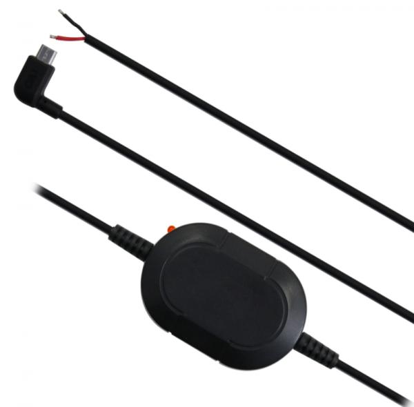 Festverdrahtungs-Kit 12-24 Volt Micro-USB offene Kabelenden IN7000/IN8020/IN8050